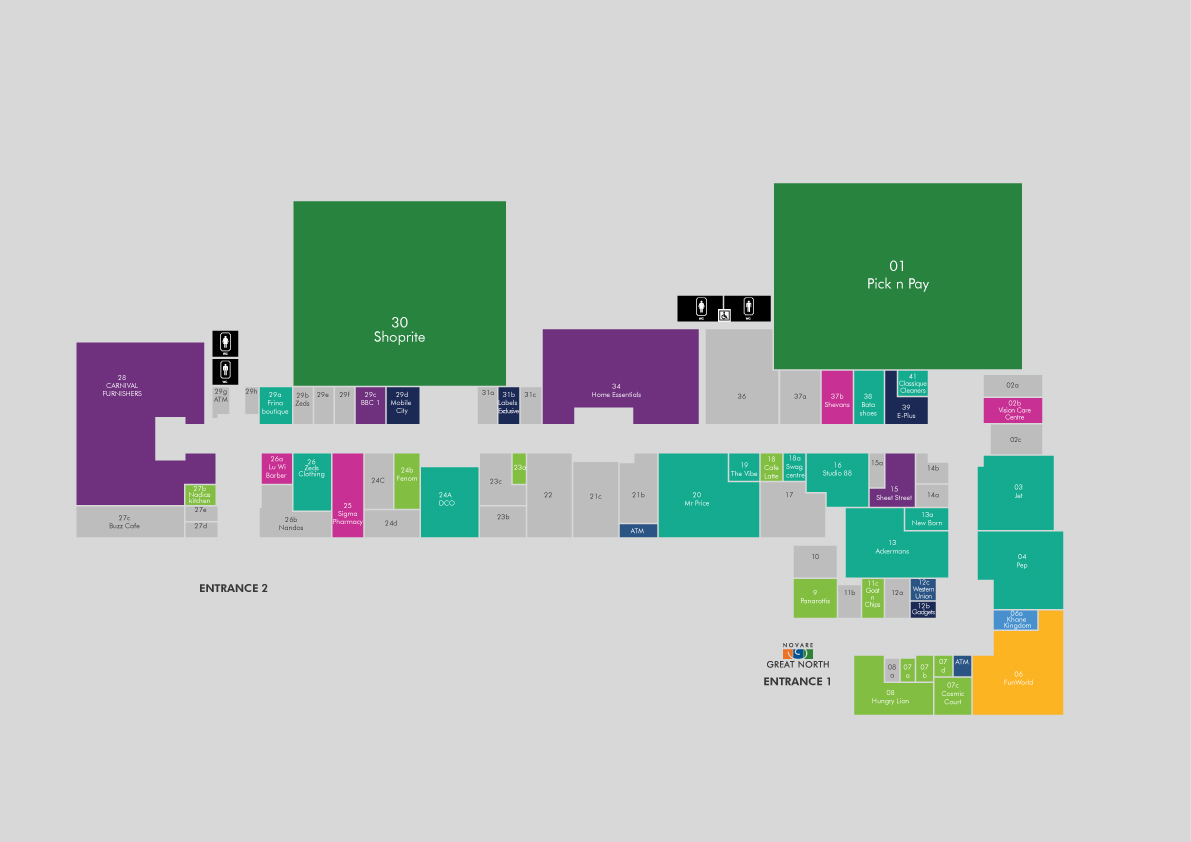 Shopping Mall map